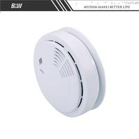 Wireless natural smoke and gas sensor smoke alarm with camera