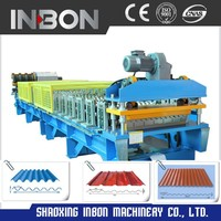 Automatic High Quality Galvanized Siding Panel Roll Forming Machine