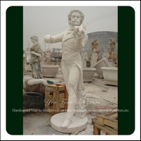 Garden Life Size Marble Beethoven Statue For Sale