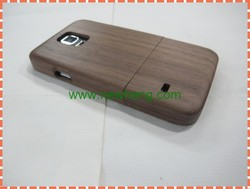 High Quality Real Walnut Wood phone Case for Samsung Galaxy S5
