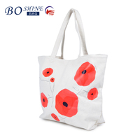 DONGGUAN BOSHINE Fashion Reusable Foldable Shopping Bag For Shopping And Promotiom shopping bag for daily life