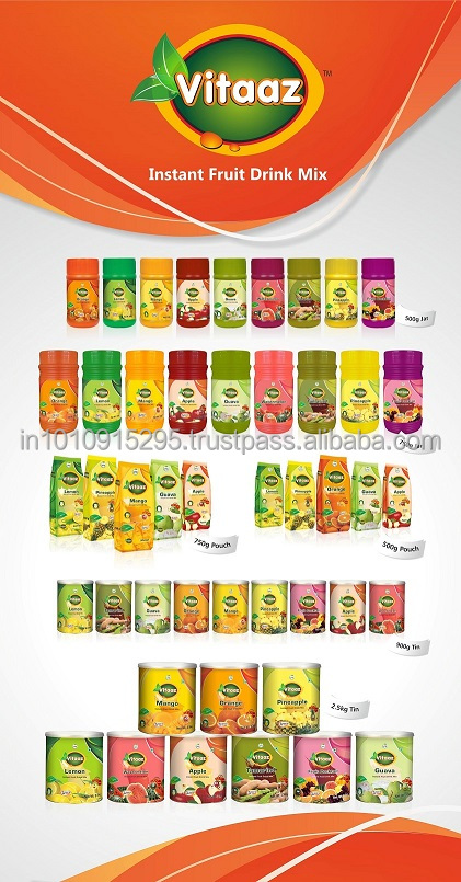 Fruit Flavoured Instant Powder Drink