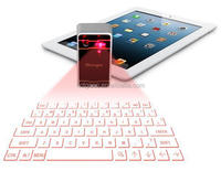 Magic Bluetooth laser projection keyboard with red light