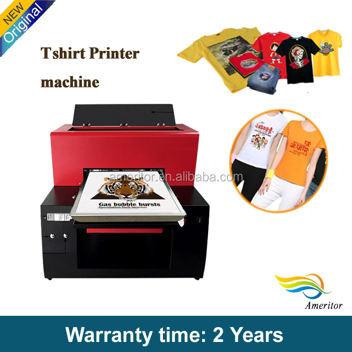 New Automatic Garment Printing Machine on Cloth, Mass T Shirt Printing, Mass DTG Printer