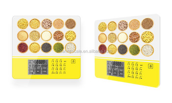 2015 new arrival Nutrient Scale with 999 food codes
