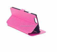 2015 custom universal cowhide leather flip case for nokia asha 501