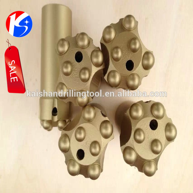 High-efficiency diamond core drill bits for hard rock
