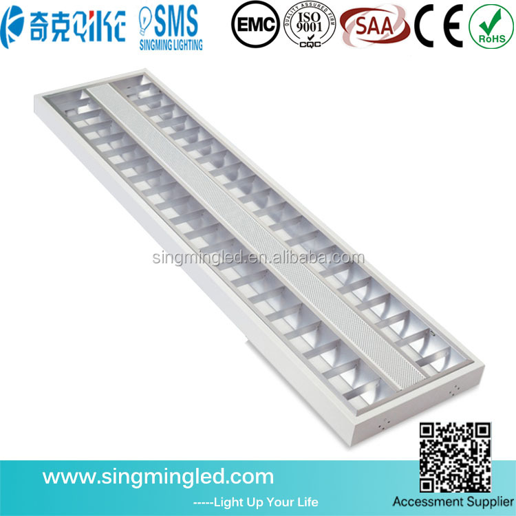 1200*300 led grille lamp light fixture square led panel ceiling light 36w led grille lamp