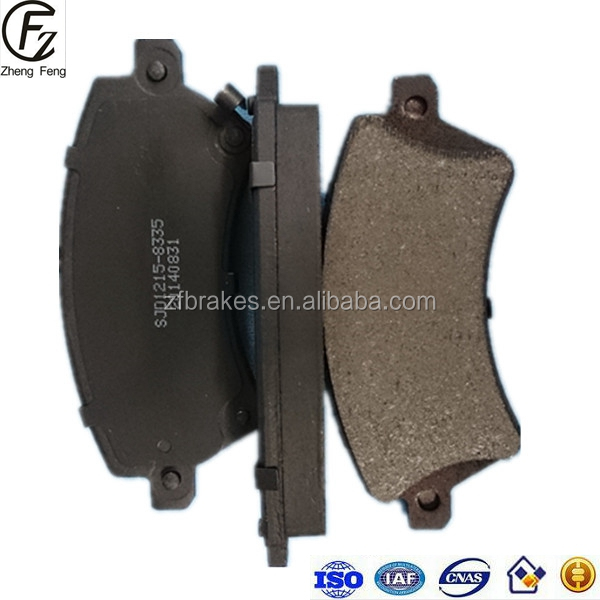 WEIFANG ZF Car spare part TOYOTA COROLLA ALTIS Saloon non Asbestos ceramic semi-metallic Auto brake pads for OE 0446502100 D1215