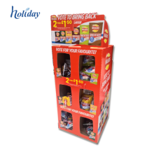 Beautiful Design Promotion Point Of Sale Cardboard Display units Stand For Gift Boxes