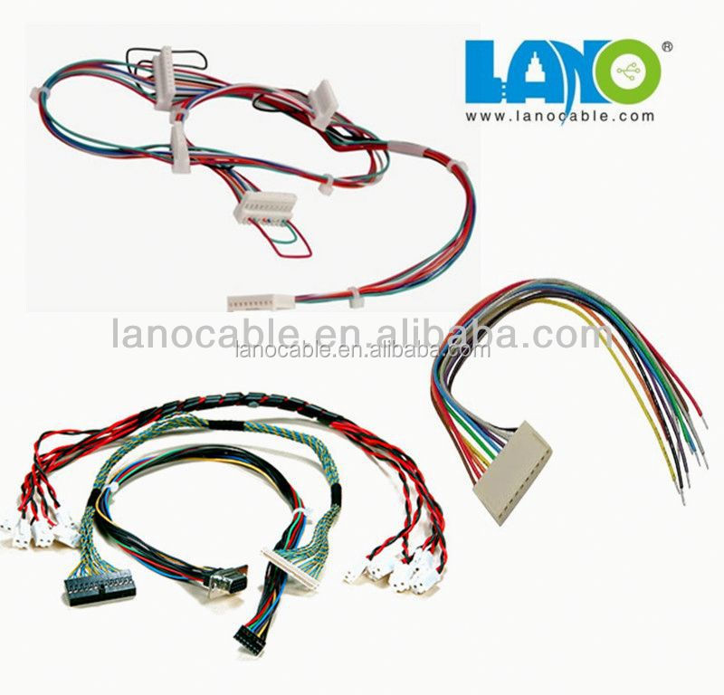 custom 3 pin connector wire harness are welcomed