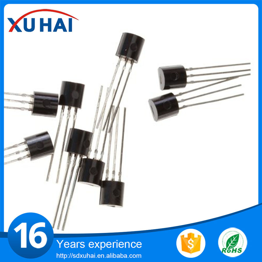 High voltage fast-switching BC547 TO-92 NPN power transistor
