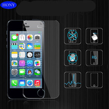 Hot Sale,9H Anti Blue Light Color Tempered glass screen protector for iphone 5