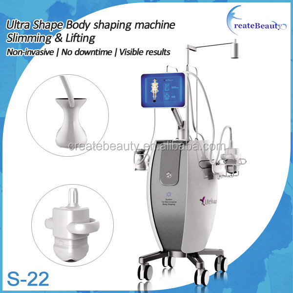 2016 new arrival ultra body shape anti cellulite u shape weight loss machine