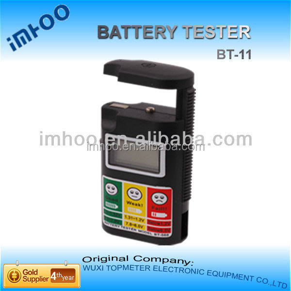 handheld digital Battery Tester BT-11 battery at autozone