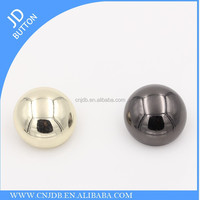 Fashion Custom Mushroom shape Metal Snap Buttons for garment