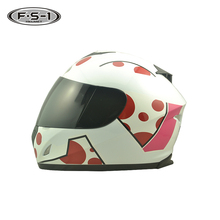 White color ABS material ECE certificate helmet used motorcycle helmets camera for sale