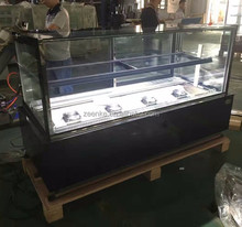 Base material stainless steel finished mini cake display refrigerator