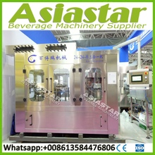 Integrated rotary bottle water washer filler capper machine