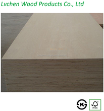 China factory price 18mm laminated russian birch plywood for furniture