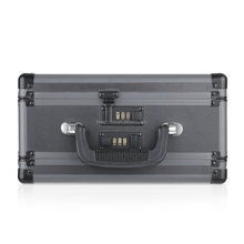 New Alloy Aluminum Gun Case Black Tattoo Aluminum Gun Box With Lock and Foam