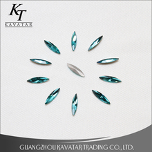 Good quality Marquise style crystal glass stone design for dress