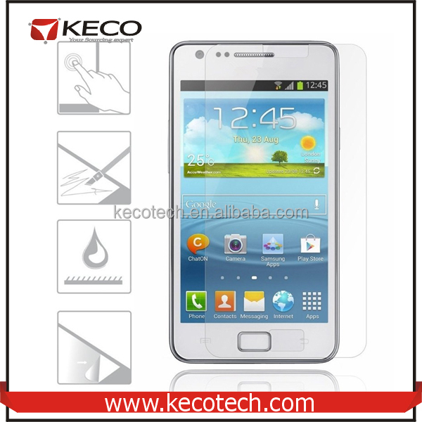 For Samsung Galaxy S2 Tempered Glass Screen Protector For Samsung SII I9100 Phone Screen Protector