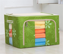 Wholesale Foldable Polyester fabric Home stackable storage box