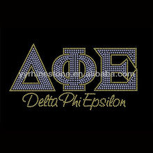 Delta Phi Epsilon Wholesale Rhinestone Transfers Design