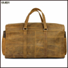 New wholesale designer genuine leather travel duffle bags for men
