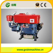Cheap small horizontal type single cylinder 28Hp diesel engine used for rice machinery