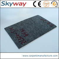 Factory supply durable crazy selling plain printed masjid carpet