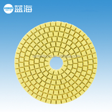 4''-100mm Wet 4 Step Diamond Angle Grinder Sanding Pad for Granite Marble Stone/Polishing Pads