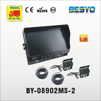 9 Inch vehicle reversing monitor with CCD Camera System BY-08902MS-2