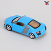 plastic mini diecast sports car toy model in pull back function