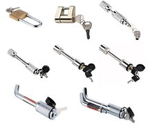 trailer coupling lock;trailer coupler lock;trailer lock