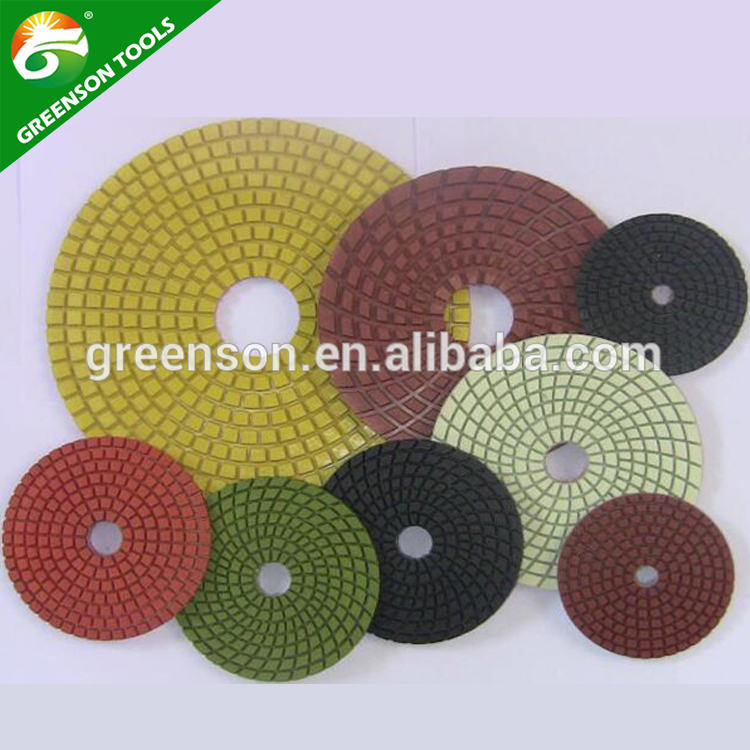 wet polisher accessories diamond polishing pads stone polishing tools