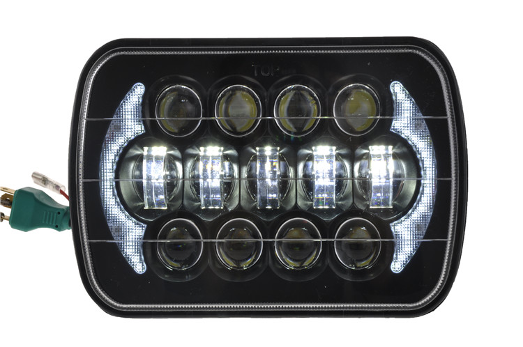 "Osram 105W 85W 5x7"" Rectangle LED Headlights from Auto led Light Manufacturer"