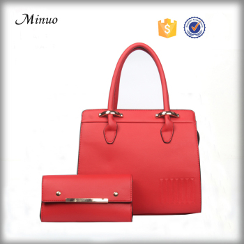 8642- High quality newest leather handbags ladies handbag tote bag lady fashion handbag