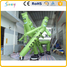 Cheap sale inflatable mini small tube man sky air dancer