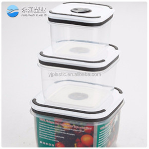 wholesale containers plastic storage box container rectangulare food container set