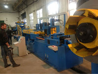 Silicon steel cutting machine for transformer core lamination