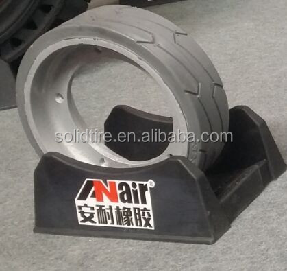 high durable 323x100 mould on solid tyre