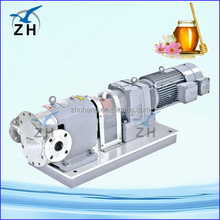 lq3a ss. rotor/lobe/rotary pump/pump with gear box to reduce the motor speed hree lobe rotary roots blower