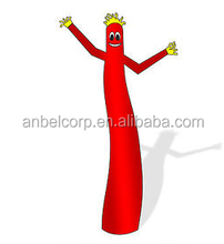 20' Inflatable Wind Advertising Fly Sky Dancer Dancing Tube Puppet Guy - Red