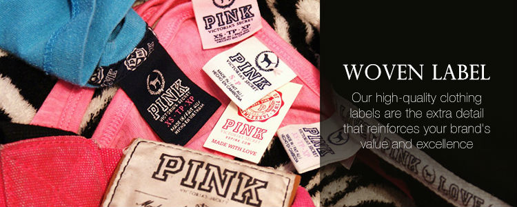 Custom Cheap Garment Labels Tag Clothing Woven Labels