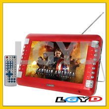 13.8 inch TFT LCD Screen Digital Multimedia Portable DVD Player with Antenna, Support TV & Game Function