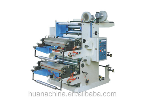 2014 Ruian 2 Color Flexographic Printing Machine printing machine on clothes