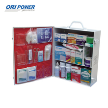 OP FDA CE ISO approved industrial work shop cabinet first aid kit metal box
