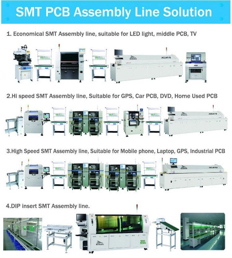 smt automatic lead free wave soldering machine for pcb insertion line